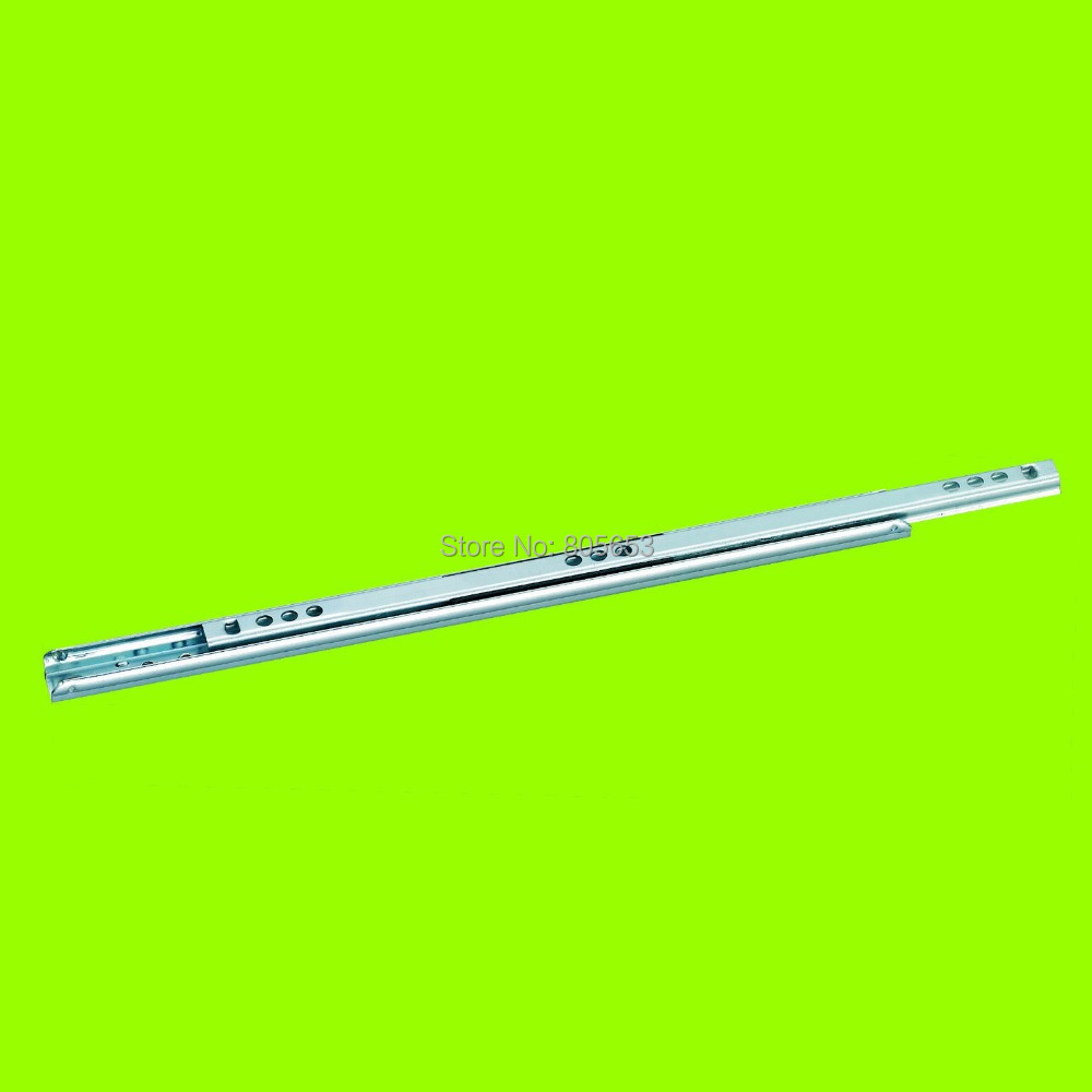high quality single-extension furniture cabinet drawer slide 24 inch (DS4118-24)(China (Mainland))