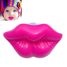 Funny Kiss Style Kids Baby Dummy Soother Lip Prank Infant Pacifier Toys Rose Red Dolls Accessories SL(China (Mainland))