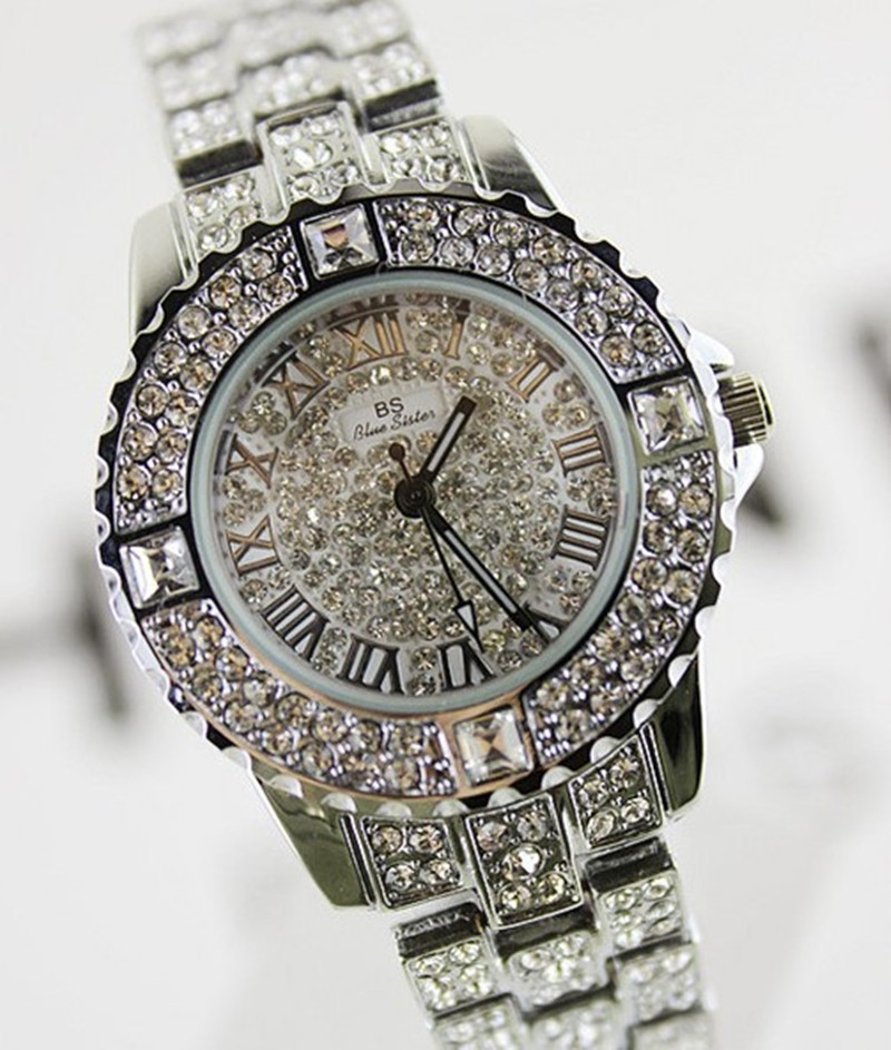 Relojes Mujer 2016 Full Rhinestone Watch Women Quartz-Watch Ladies Clock Hodinky Relogio Feminino Watches Woman Montre Femme