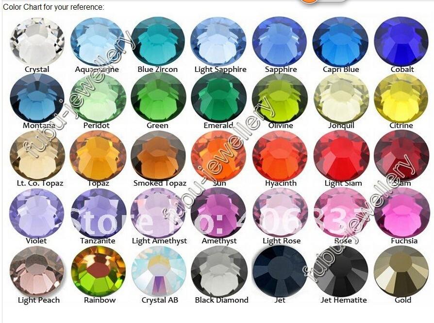 1440 pcs /pack SS3 (1.3mm) crystal Multicolor Non Hotfix 3D Nail Art stones Flat back Rhinestones decorations for nails diy(China (Mainland))