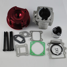 49cc big bore kit cylinder head high performance engine cylinder spare parts(China (Mainland))