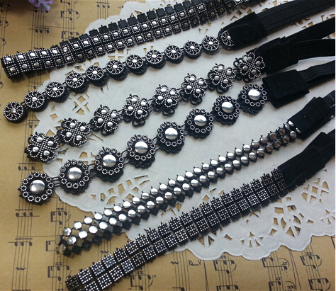 1lady women's 2014 Elastic sequins headband fashion black color hair wear accessories - Fancy You store