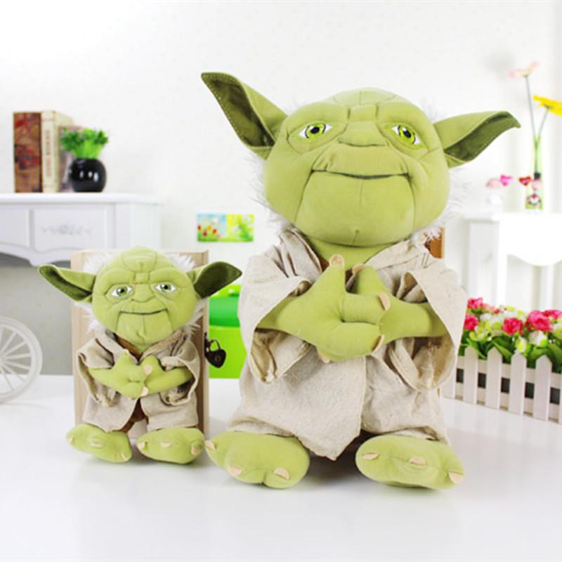 star wars Master Yoda plush toy doll  ,2pcs/lot<br><br>Aliexpress
