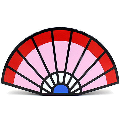 Персонализированные вентилятор дизайн уникальный акрил мозаика мода свадебные ну вечеринку клатч вечерняя сумочка женская сумка кошелек