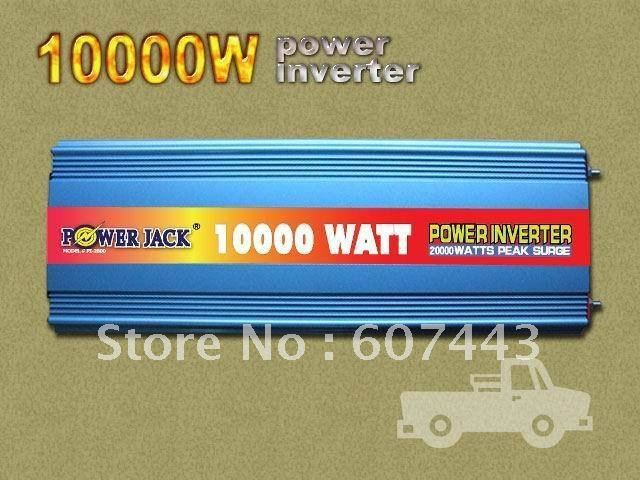 20000w max 10000w modified wave power inverter 12VDC/220VAC ONE YEAR WARRANTY