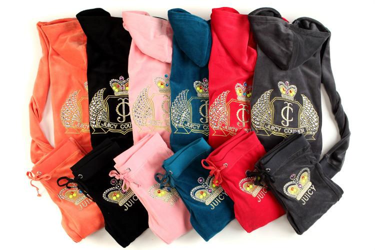 2014 Fashion Brands Women's Tracksuits Suits sportswear jogging Suit Hoodies/Sweatshirts velvet lady Size:S-XL - Online Store 640040 store