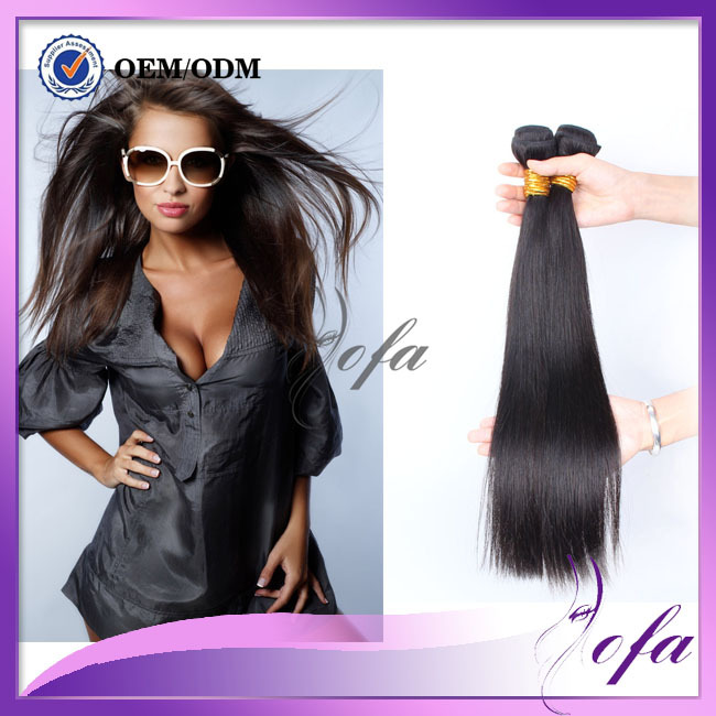 milky way human hair weave brazilian virgin hair straight 3 bundles miss lula hair 10a unprocessed straight virgin hair(China (Mainland))