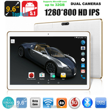 9.6 inch MT8752 Octa Core 3G 4G Lte tablet pc 1280*800 5.0MP 4GB RAM 32GB ROM Android 5.1 Bluetooth GPS IPS tablet 10 10.1 Gifts(China (Mainland))