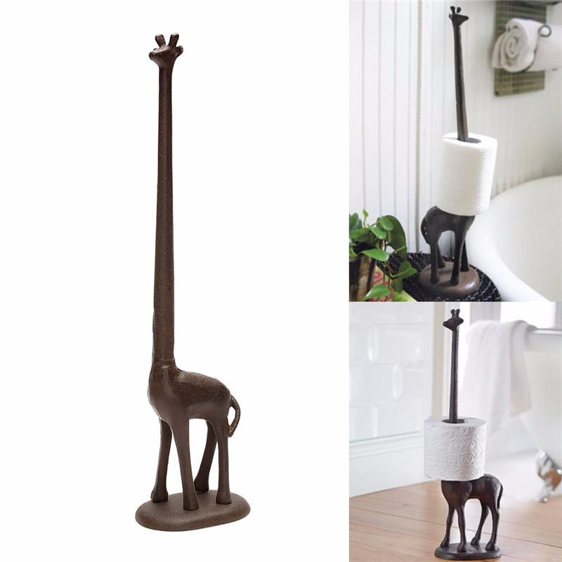 Giraffe Shape Toilet Paper Roll Towel Dispenser Home