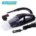 Car Vacuum Cleaner Portable Wet And Dry Dual Use Auto Cigarette Lighter Filter 120W 12V Black
