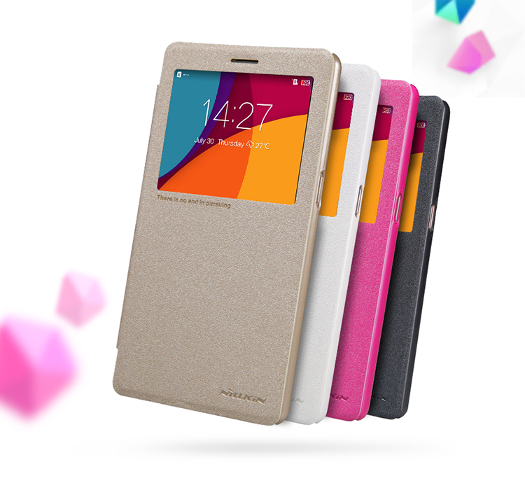 Nillkin Sparkle Flip Matte Window Leather Cover Case OPPO R7 PLUS - 2015 Special Offer store