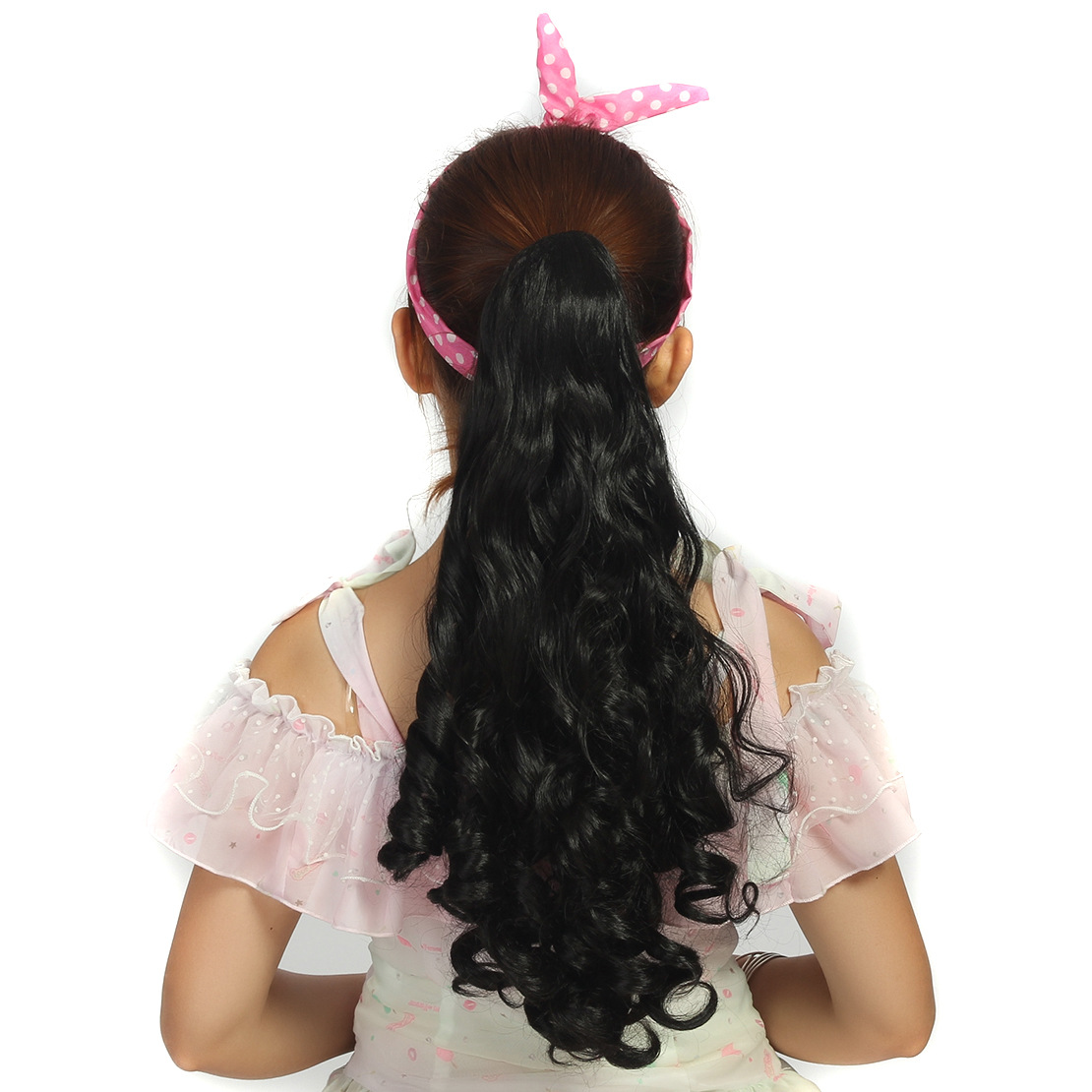 New brand and high quality Ponytail Hairpieces Fashion Wave of Cauda Equina Non Mainstream Wig free shipping<br><br>Aliexpress