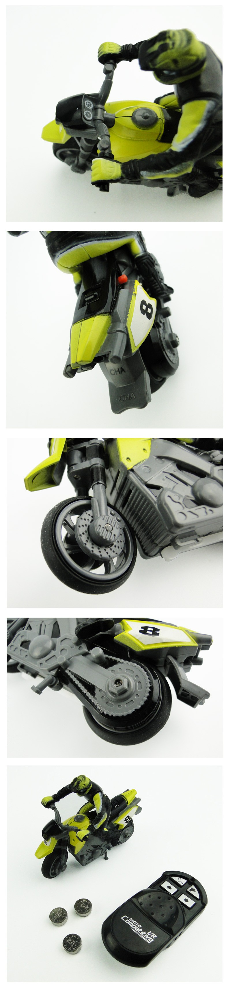 New Arrival Special Effects RC Motorcycle Radio Infrared Machine Remote Control Toys Competitive Play For Boys And Girls Gift