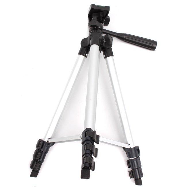 1pc/lot Compact Flexible 3 Sections 650mm Universal Metal Professional Tripod For DSLR Camera MU672204(China (Mainland))