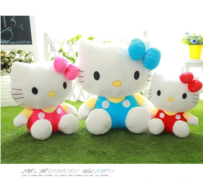 Hello Kitty Plush Toy Christmas Gift Big Size Good As a Kids Gift Factory Supply is only skin without filling(China (Mainland))