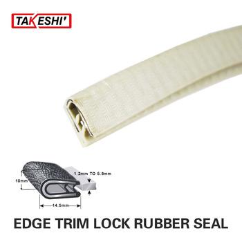 "14.5x10mm White U channel 315"" 800CM 26.2ft White Car Truck Window Door Rubber Edge Trim Seal Strip Protector Crashproof"