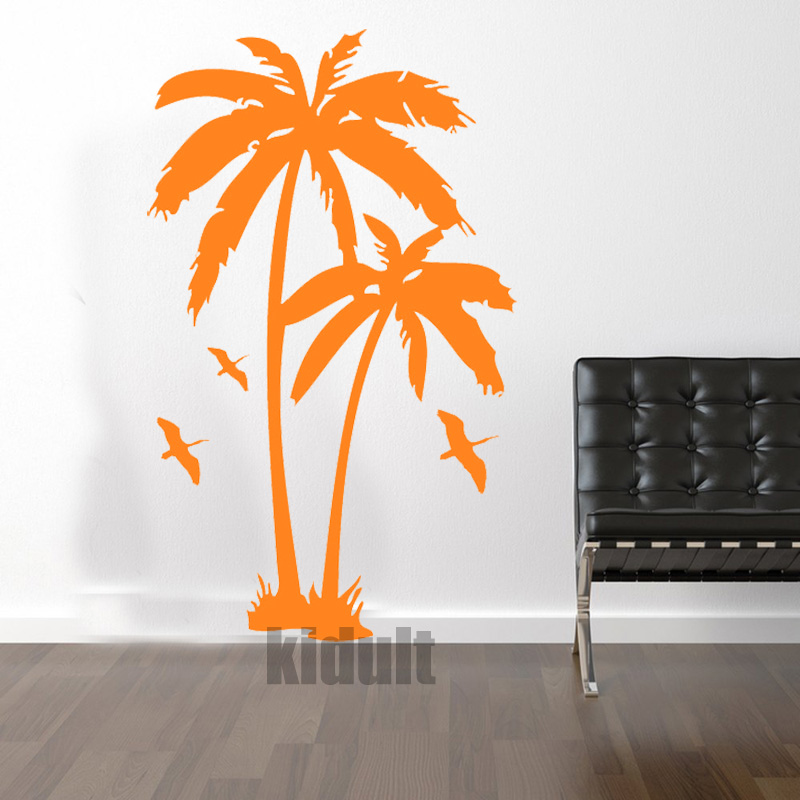 Hot & Home Decor Wall Sticker Creative landscape design and plant trees Wall stickers vinyl wall decals many colors wholesale