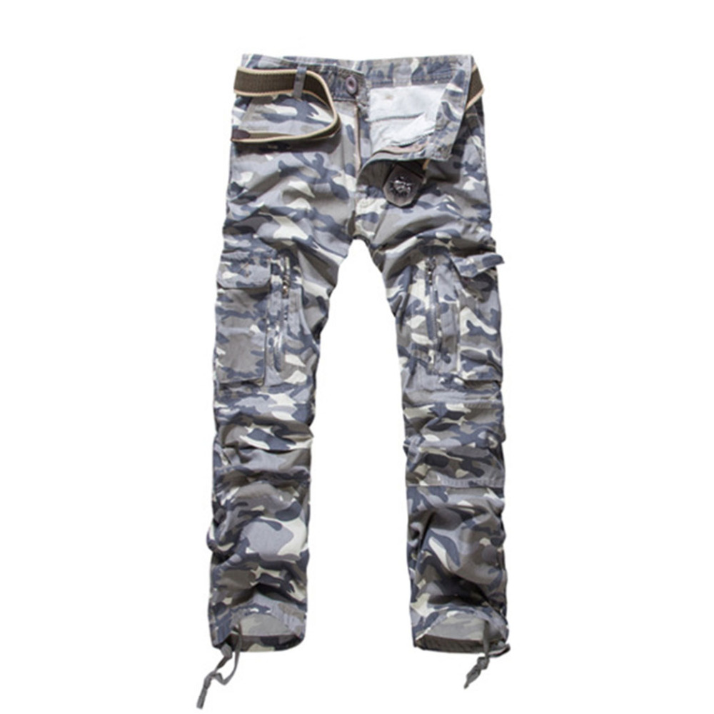 product Trendy Men's Como Cambat Trousers New Military Army Cargo Camouflage Overalls