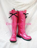 Newest Custom Made Japanese Anime Tokyo Mew Mew Strawberry Ichigo Cosplay Shoes Long Boots For Christmas Halloween Festival