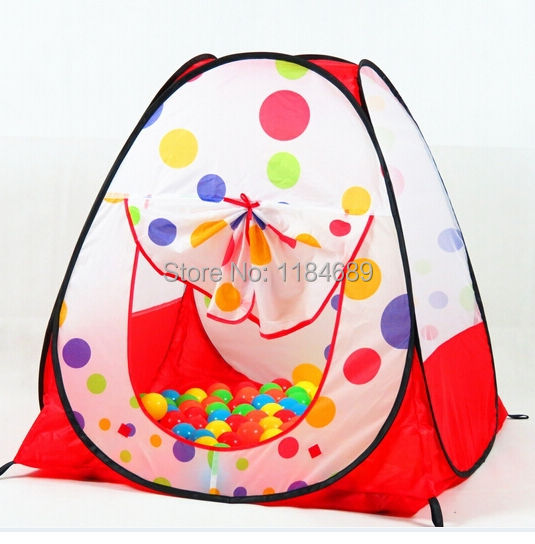 Free Shipping Children kids Playing Indoor Outdoor Pop Up House Kids Play Game Kidst Toy Multi-function Tent Child Independent(China (Mainland))