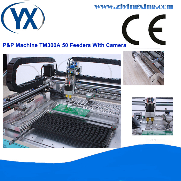 The Factory Produce The SMT Machine TM300A With 50feeders and System/Pick and Place Machine/PCB Pick Place Machine(China (Mainland))