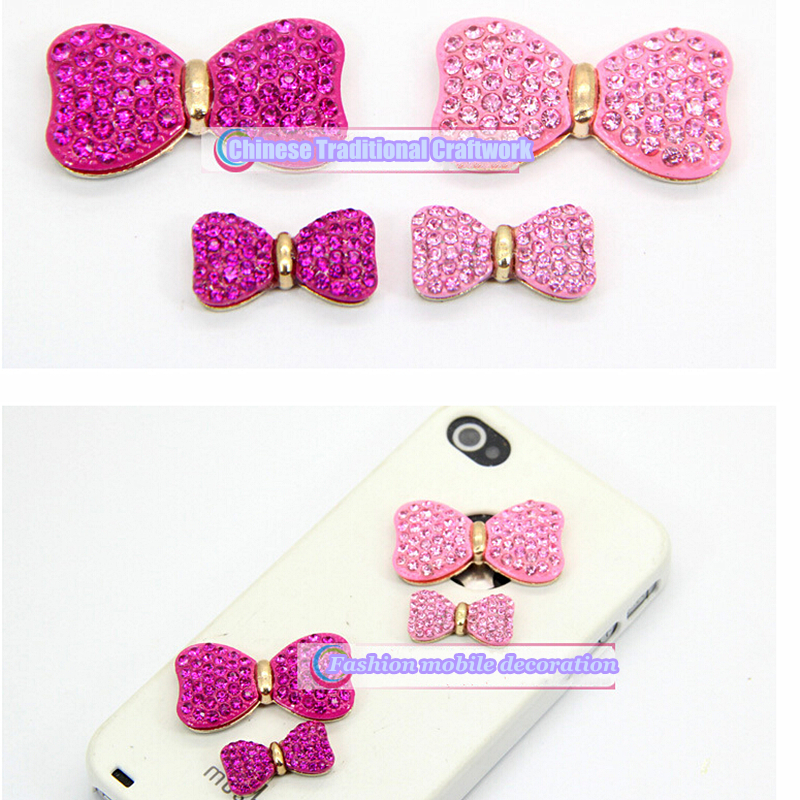 Beautiful alloy diy mobile phone decoration accessories rhinestone for cell phone and jewelry(China (Mainland))