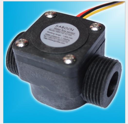 G1 2 Impeller type Water Flow Sensor Fluid Flowmeter Switch Counter 1 30L min Met 1