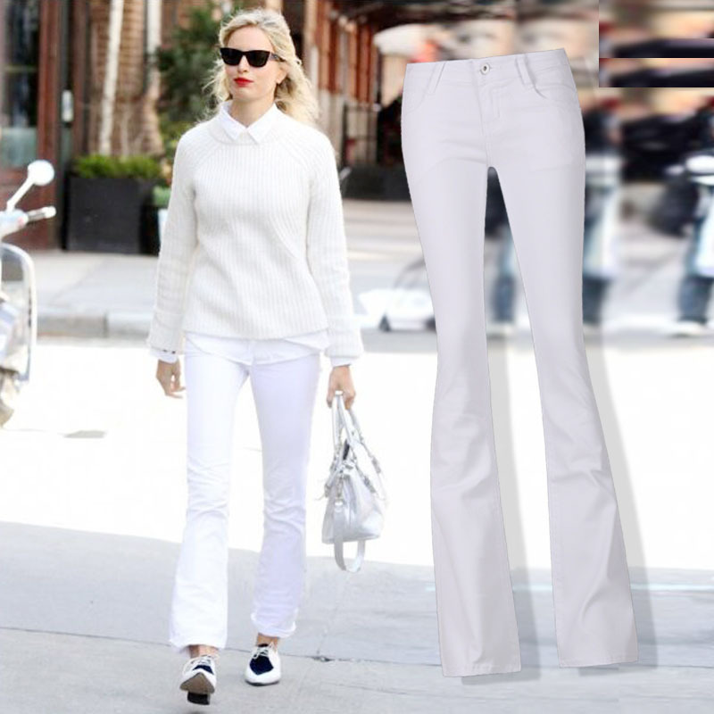 Online Get Cheap White Jeans Flare -Aliexpress.com | Alibaba Group