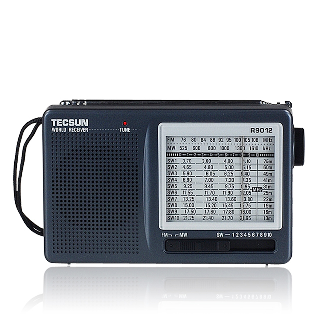 12 Bands Radio TECSUN R 9012 Multi Band Radio Receiver FM MW SW