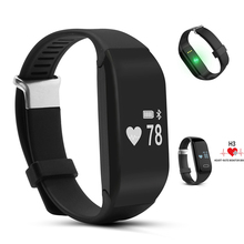 Buy Smart Bracelet H3 Wristband Heart Rate Monitor Bluetooth 4.0 Fitness Tracker Smartband PK Mi Band 2 Xiaomi iPhone Wristband for $20.11 in AliExpress store