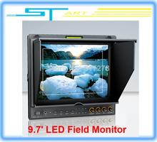 2014 New Lilliput 9.7″ LED Field Monitor with HDMI YPbPr Audio Input Dual HDMI input for RC drone Quadcopter FPV Drop s Toy kids
