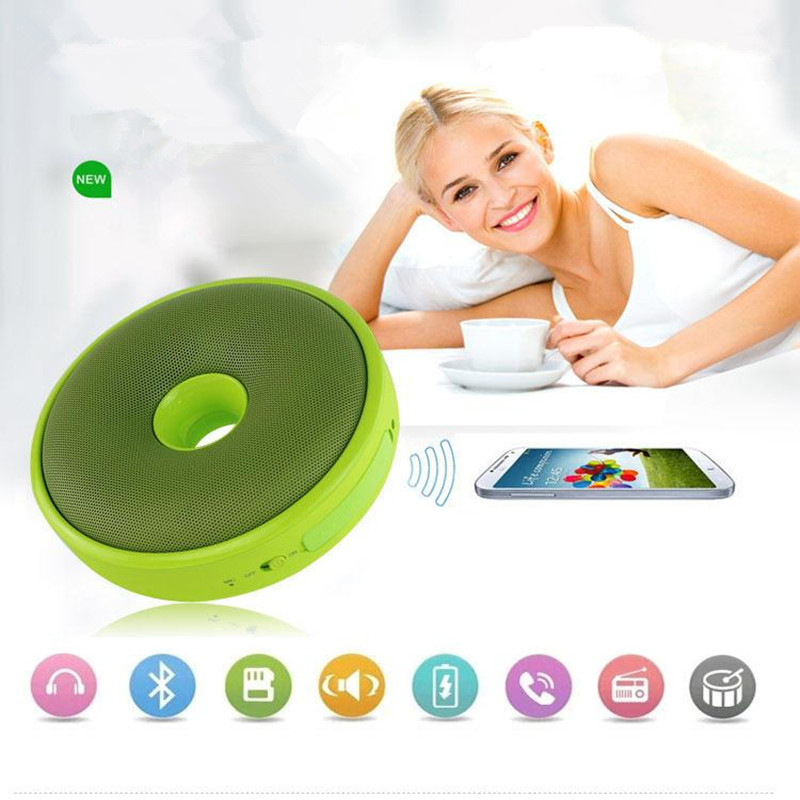 B9000 Bluetooth Pillow Speaker Wireless Card Speaker Small Stereo Subwoofer Hands Free Calling