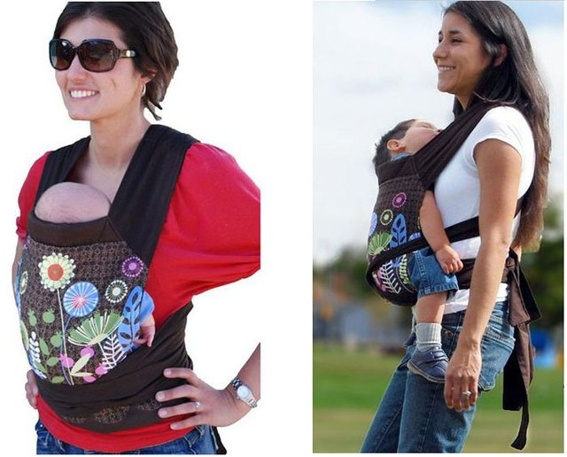 2013 100% Cotton Brand Name Designer Front & Back Newborn Baby Carrier Infant Comfort Backpack Sling Free Shipping