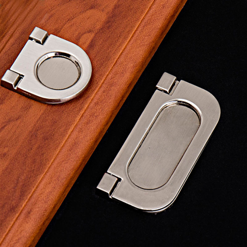 New Modern Hardware Open Mounted Chest Drawer Shoebox Door Ring Pull Handle Knob(China (Mainland))