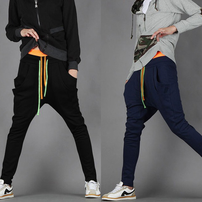 dance pants men's sports long trousers male skinny harem Pyjama Pants - JACK & ROSE OFFICIAL SHOP store