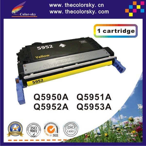 (CS-H5950-5953) compatible toner printer cartridge for HP ColorLaserJet 4700 4700DN 4700DTN 4700PH+ Q5950A - Q5953A free Fedex<br><br>Aliexpress