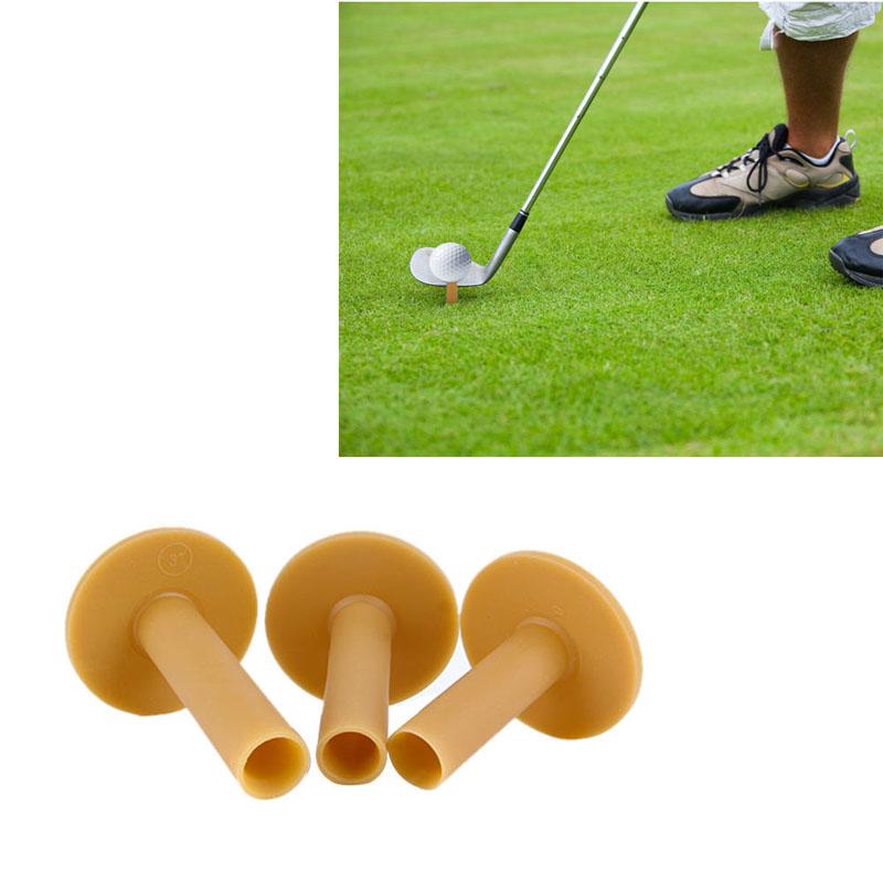 Golf supplies Rubber Driving Range Golf Tees Holder Tee Home Training Practice Mat 60/70/80mm(China (Mainland))