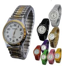 1pc NEW Retro watches casual dress for women for men Quartz wristwatch colorful metallic flexible bracelet watch Big Small