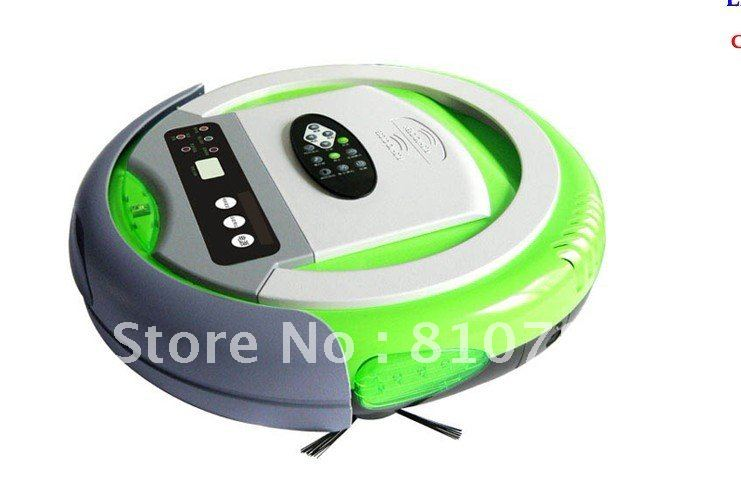 Infinuvo Cleanmate QQ-2 /Automatic Vacuum Cleaner Remote Control, Auto Recharging, UV Light Disinfection, Air Flavoring