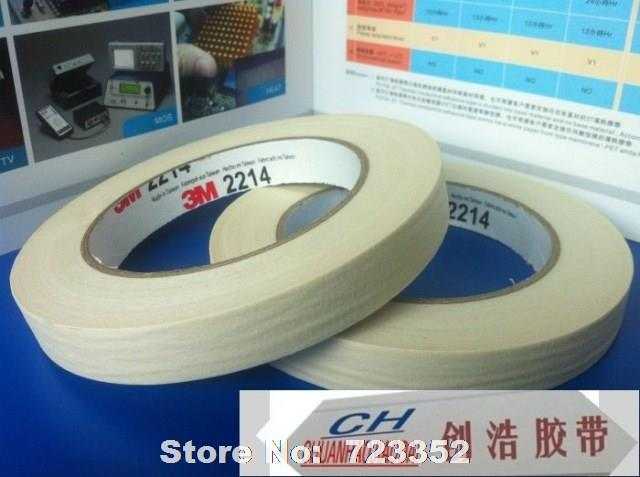 Special offer 3M 2214 U.S. profile of paper tape wholesale paint/cover/fixed 10 mm * 50 meters/sealing tape(China (Mainland))