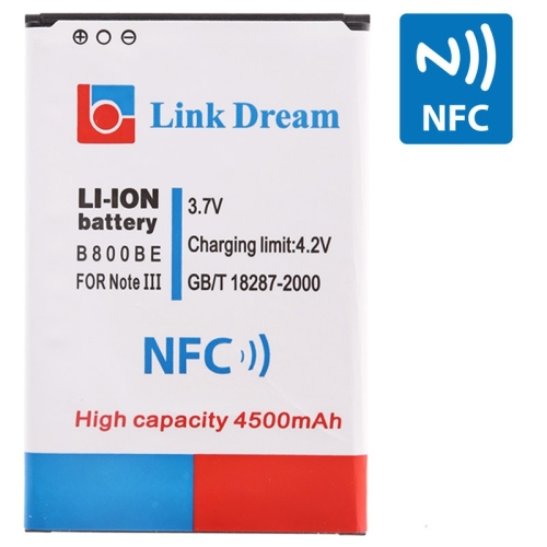 Battery Samsung Galaxy Note 3 N9000 Link Dream 4500mAh Replacement NFC (B800BE) - WT 3C Accessories Online Store store
