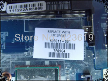 For HP Mini 210 Series Intel Atom N450 1.66GHz CPU motherboard 598011-001,100%Tested and guaranteed in good working condition!!