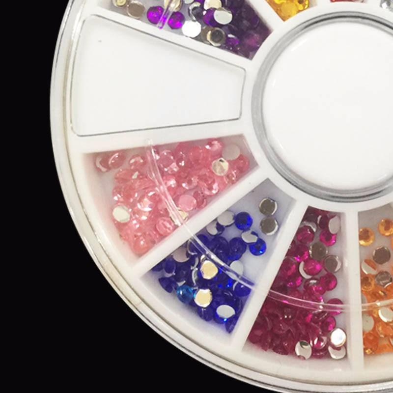 About 1000pcs/box 3D Nail rhinestones Art Rhine stone  crystal  nail art decorations  Acrylic Nail Art  cosmetics rhinestones