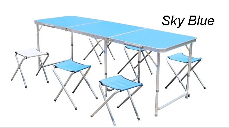 pliante en plein air table de pique nique et chaise pliante portable table de jardin tables en. Black Bedroom Furniture Sets. Home Design Ideas