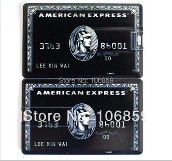 Real capacity 100% warranteen 16gb+Free 2 side  Logo Credit Card usb pendrives 8gb 4gb 50pcs/lot Free shipping