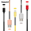 USB Cord For iPhone 6 Spring Cable ThinkANT Colorful 2PACK Cable for iPhone 6S Plus 7