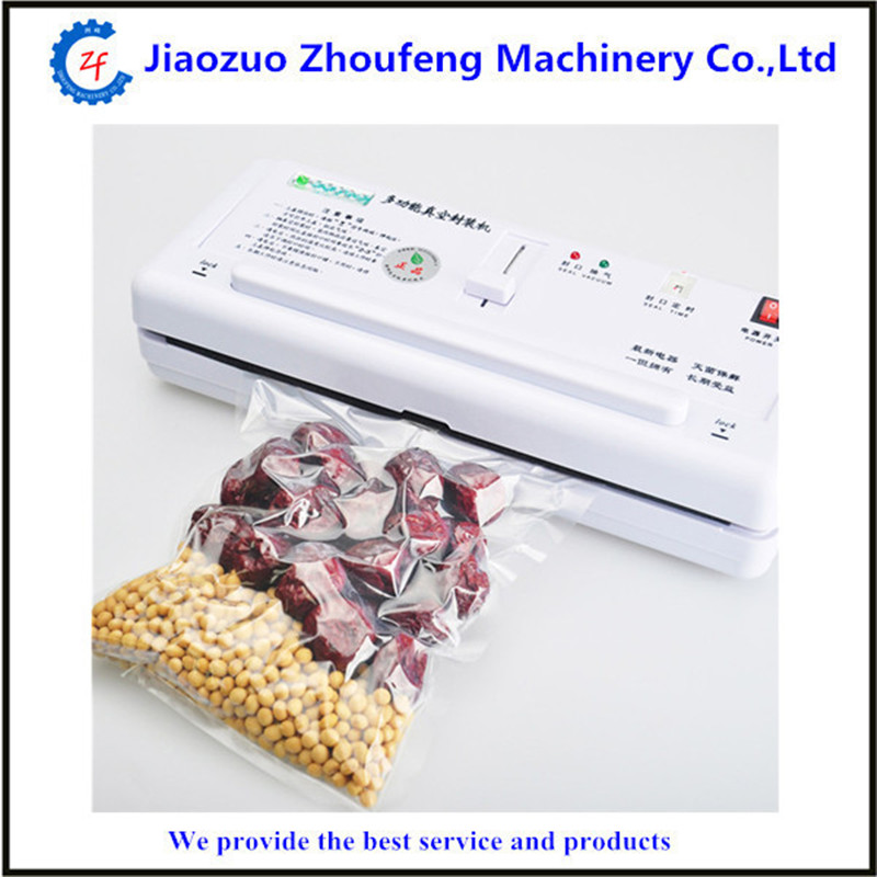 220V Automatic Electric Food Vacuum Sealer Portable Household Vacuum Packing Machine ZF(China (Mainland))