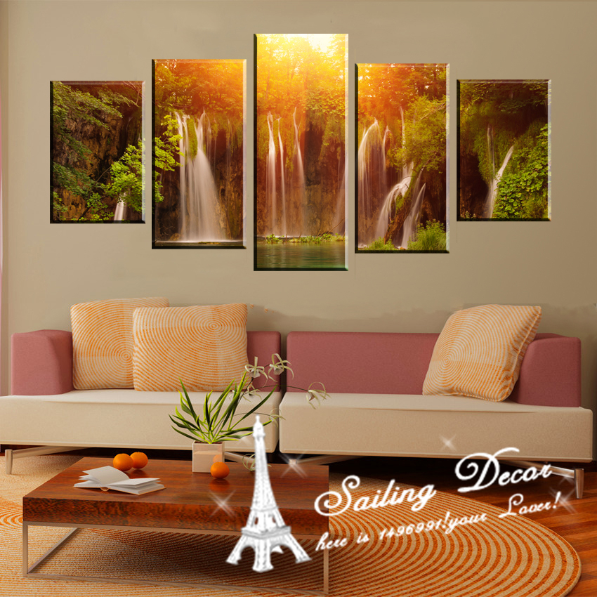 Buy free shop 5panels a set canvas painting printed canvas foe living room or Canvas prints for living room