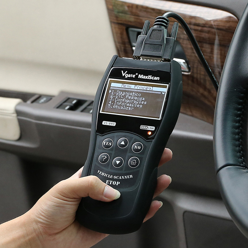 High Quality Vgate VS890 Multi language Car Code Reader Auto Diagnostic Scanner(China (Mainland))