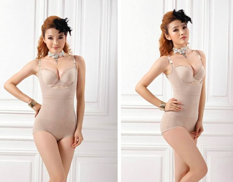 Women Luxury Push up Body Shaper bodysuits 5100 Corset Slimming Suit Shapewear Shapers underwear slim